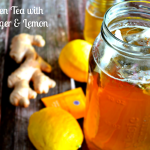 Green Tea with Ginger & Lemon for Weight Loss